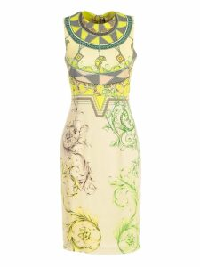 Versace Collection Printed Dress