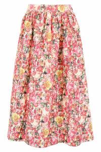 Marni Floral Printed Skirt