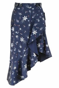 self-portrait Constellation Skirt
