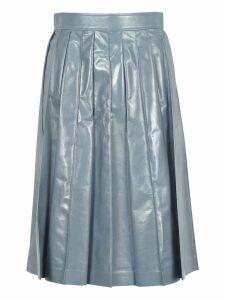 Bottega Veneta Bottega Veneta Shiny Vintage Lamb Skirt