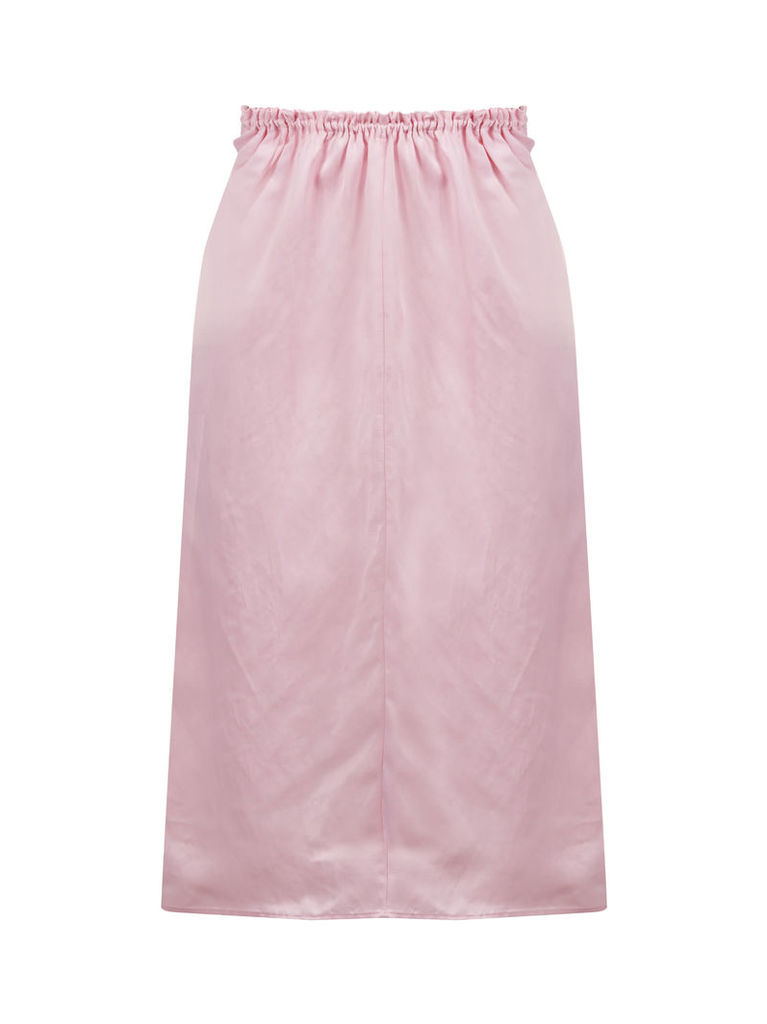 Jil Sander Ruffled Waist Mid-length Skirt
