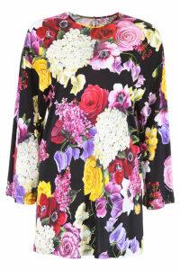Dolce & Gabbana Hortensia Print Top