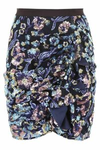 self-portrait Mini Skirt With Sequins
