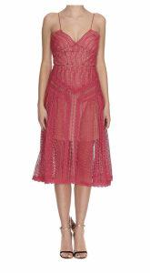 Self-portrait Lace Panel Dress