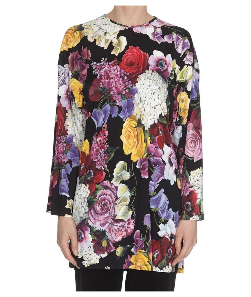 Dolce & Gabbana Ortensie Print Blouse