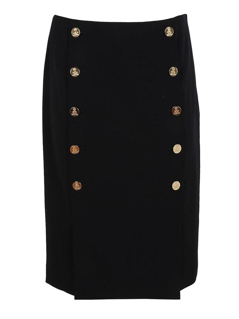 Ralph Lauren Black Ophelie Skirt