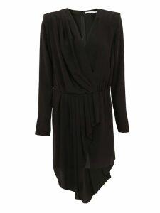 Givenchy Short Draped Wrap Dress