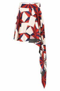 Calvin Klein Asymmetric Skirt