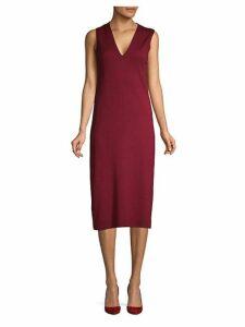 Cashmere & Silk Shift Dress