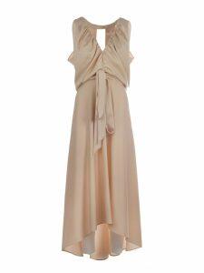 Chloé Deep V-neck Fluid Dress