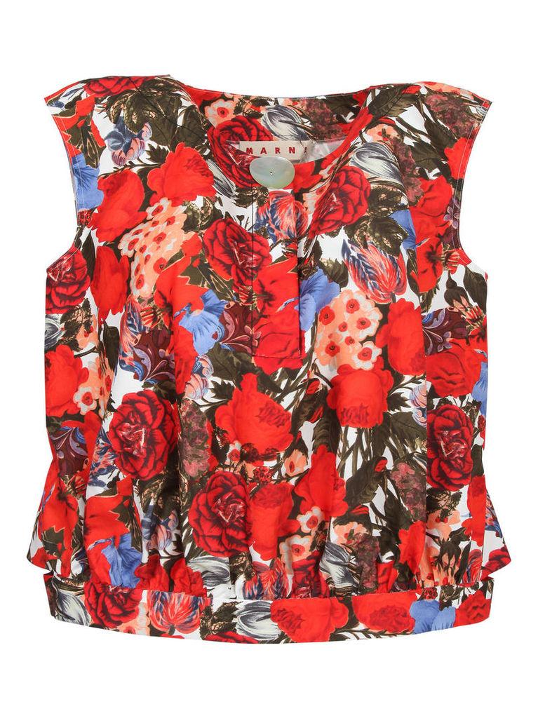 Marni Floral Top