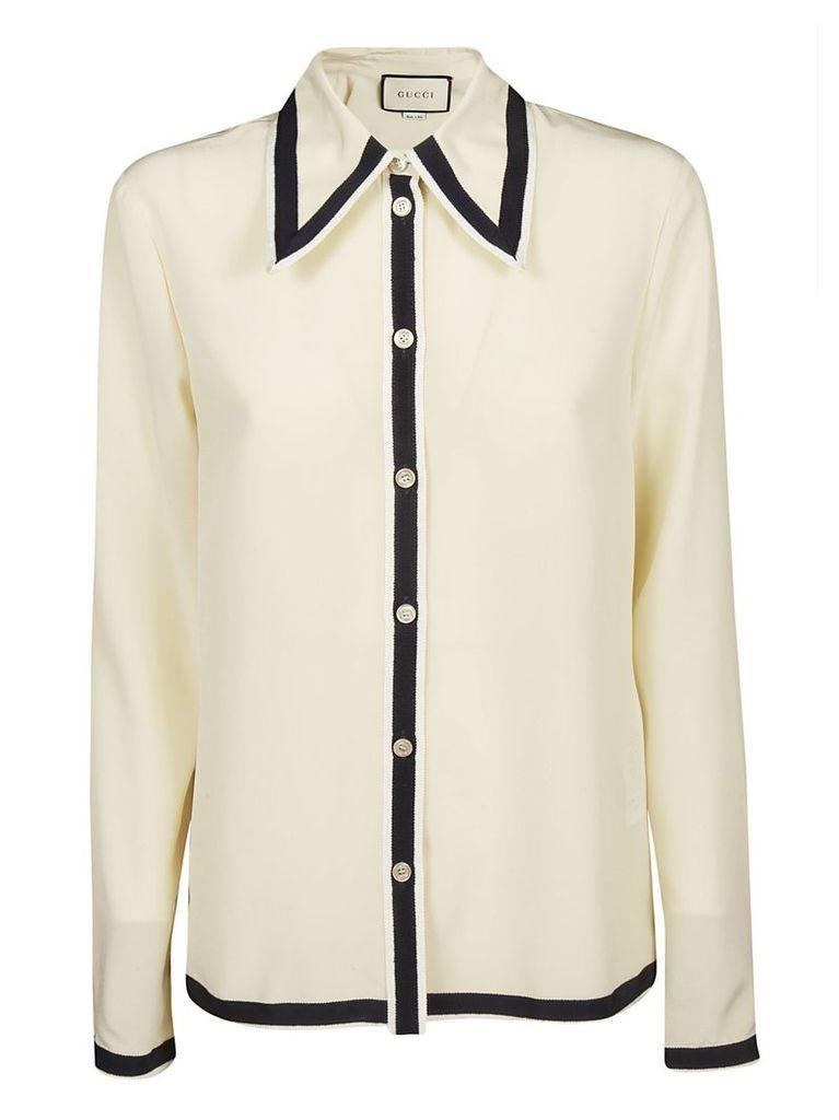 Gucci Ribbed Detail Shirt