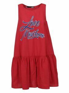 Love Moschino Sleeveless Printed Dress