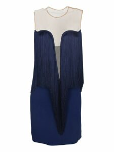 Stella McCartney Fringed Trim Mini Dress