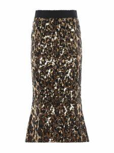 Dolce & Gabbana Embellished Sequin Skirt