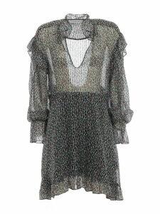 Philosophy di Lorenzo Serafini Ruffled V-neck Dress