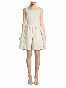 Mini Candy Jacquard Flare Dress