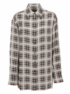 Marc Jacobs Oversized Plaid Button Down Shirt