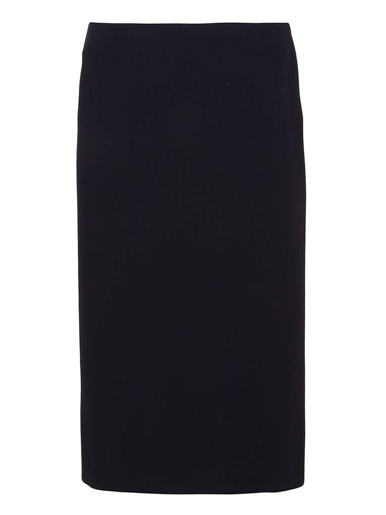 Ralph Lauren Black Cindy Straight Skirt