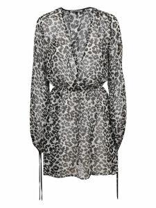 Fisico - Cristina Ferrari Leopard Print Dress