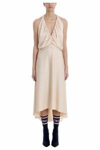 Chloé Pink Silk Long Dress