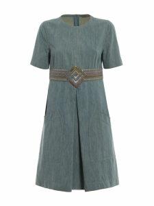 Bottega Veneta Embellished Skirt