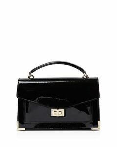 The Kooples Emily Small Patent Leather Shoulder Bag