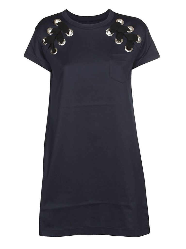 Sacai Stitched Detail Dress