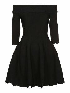 Alexander McQueen Off-the-shoulder Short Dress