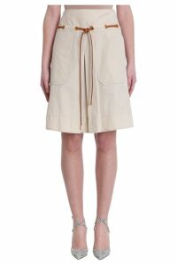 Tory Burch Belted Skirt