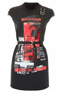 Dsquared2 Punk Rock Mini Dress