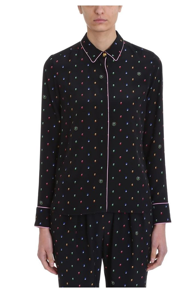 Stella McCartney Pyjama Black Silk Shirt