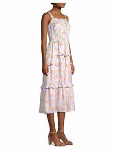 Emilia Silk Midi Dress