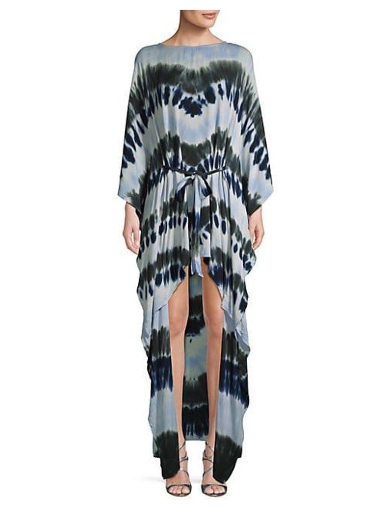 Jolie Printed High-Low Dress