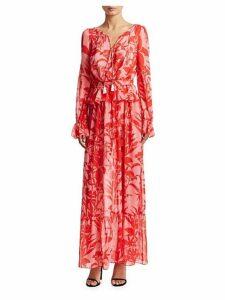 Lily Silk Georgette Dress