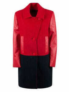 Armani Collezioni Buttoned Pea Coat