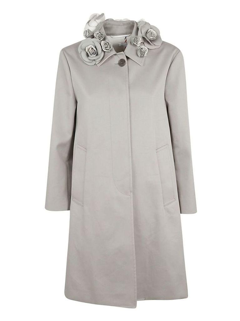 Thom Browne Rose Collar Coat