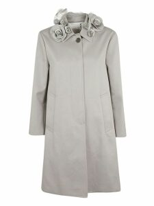 Thom Browne Rose Collar Coat