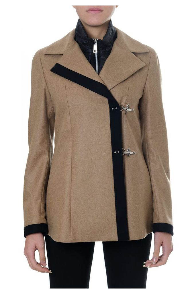Fay Wool And Cashmere Double Breast Coat
