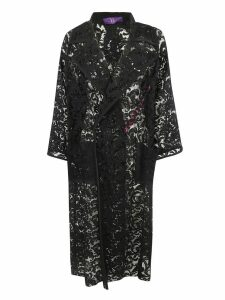 Ys Floral Lace Coat
