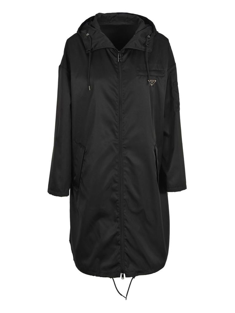 Prada Parka Zip Hooded