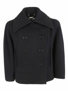 Chloé Buttoned Peacoat
