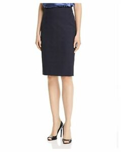 Boss Vilula Tonal Plaid Pencil Skirt