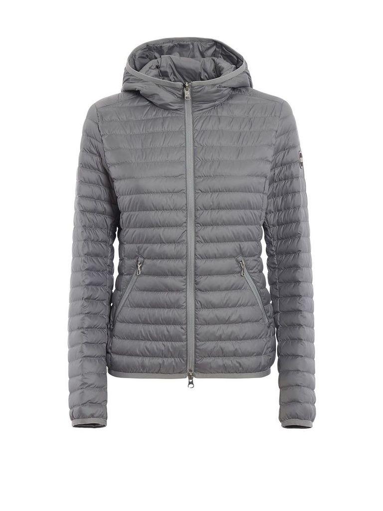 Colmar Hooded Grey Puffer Jacket