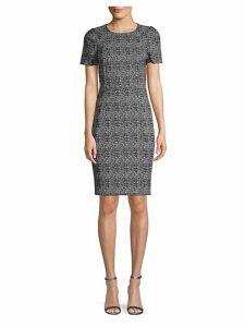 Plaid Sheath Dress