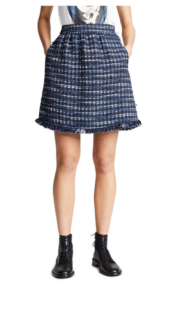 Boutique Moschino Tweed Skirt