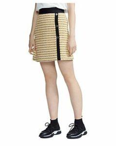 Maje Jisidore Tweed Skirt