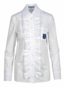Prada Prada Ruffled Shirt