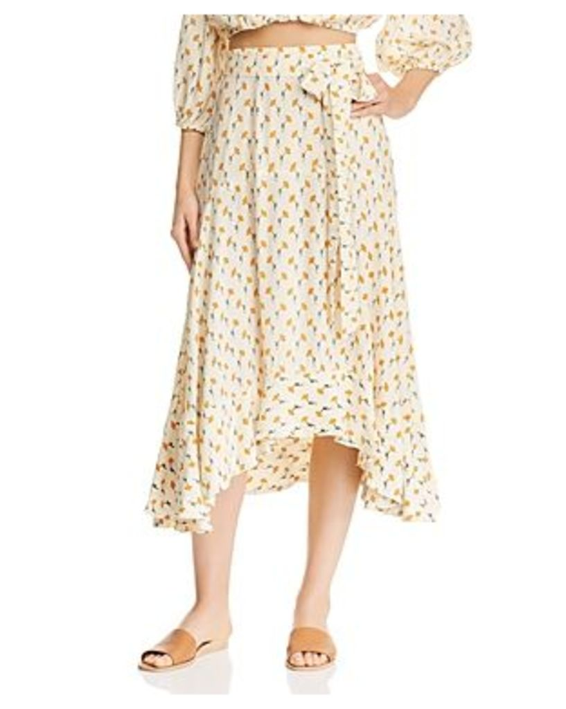 Faithfull the Brand Kamares Midi Skirt