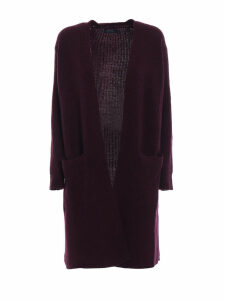Polo Ralph Lauren Merino And Cashmere Open Front Cardigan